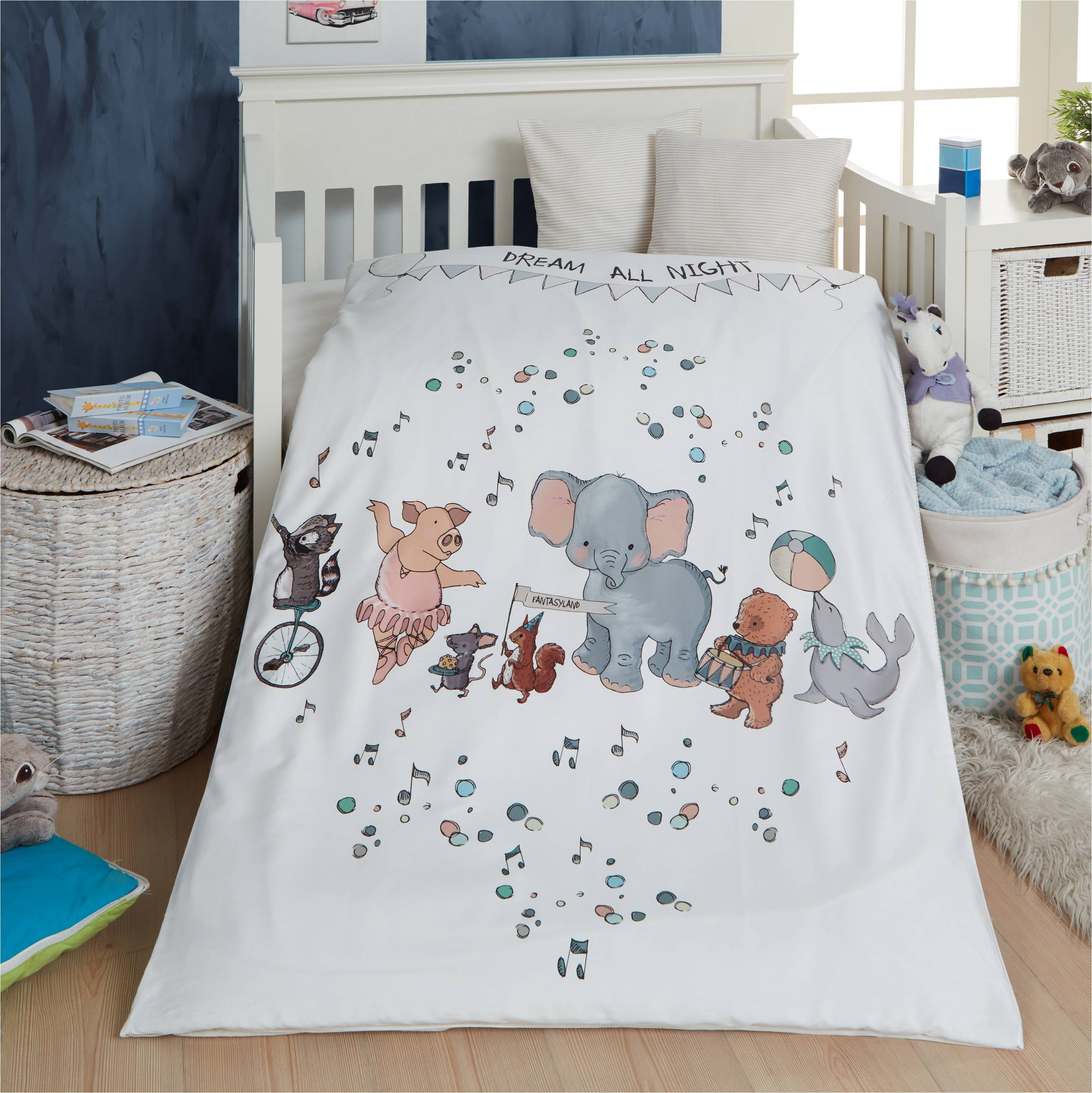 Picture of: Baby Sengetoj Dream All Night M P 70x100cm Beige Striber Babysengetoj Byskagen