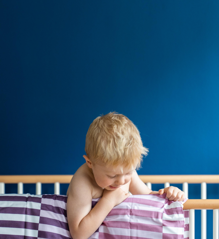 Picture of: Baby Sengetoj Freja Bomuldssatin Rosa Tern 70×100 Cm Byskagen